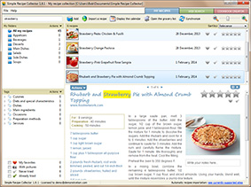 User interface screenshot